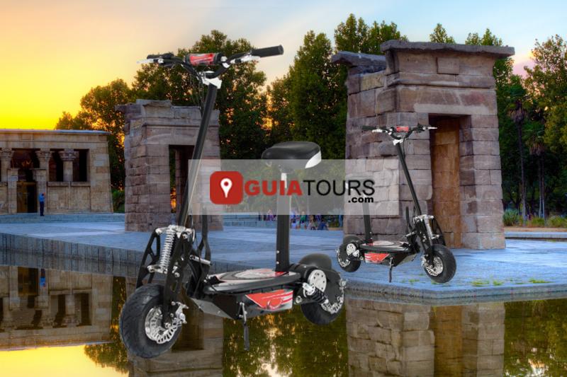 top-guiatours-tours-colage-scooter-patinete-electrico-madrid-de-los-austrias-templo-debod